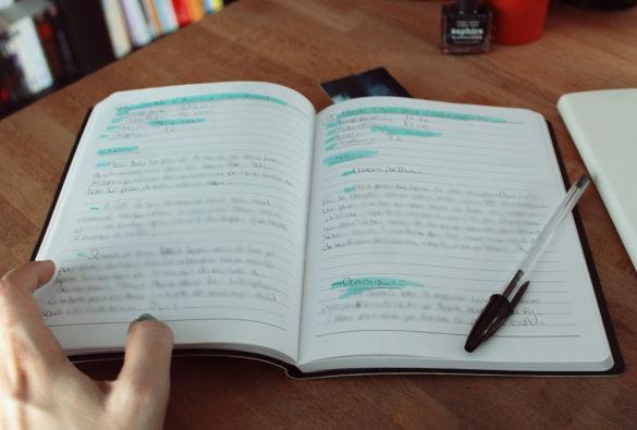 Mon p'tit journal d'écriture