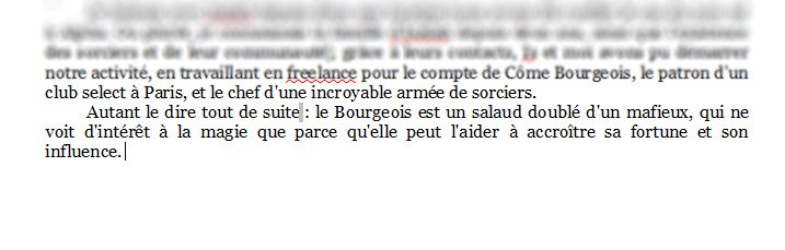 Bilan (7) – Juillet